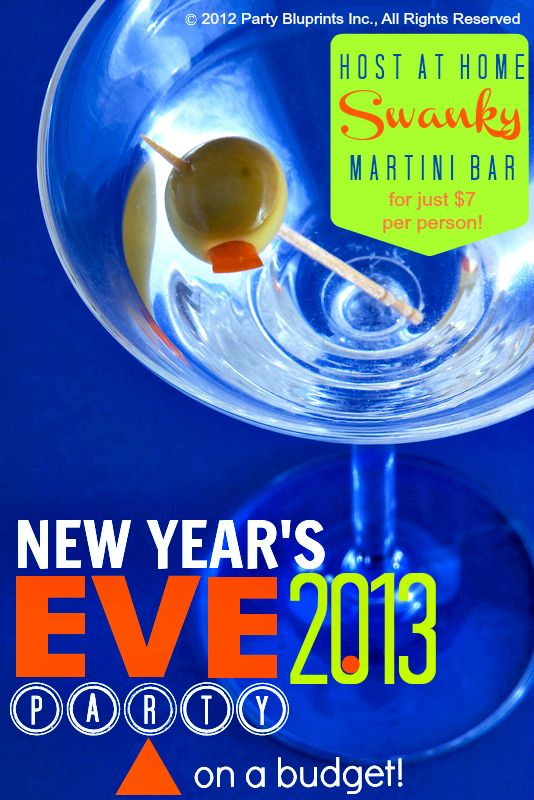 New Year's Eve Party Ideas For A Tight Budget!