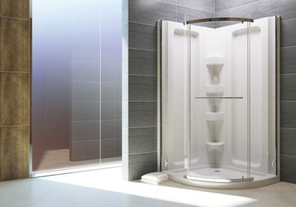 SORRENTO Rounded Shower Base