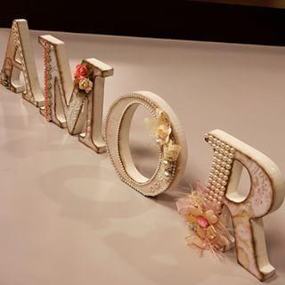 Letras decoradas por Marisa Magalhães