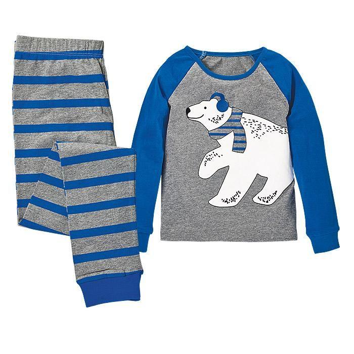 Polar Bear PJs pyjamas by Avon sizes 8-18 NEW sealed in bag