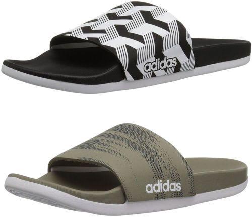3edcfc5f30a4 Sandals 11504  Adidas Men S Adilette Cloudfoam Plus Link Slide Sandals
