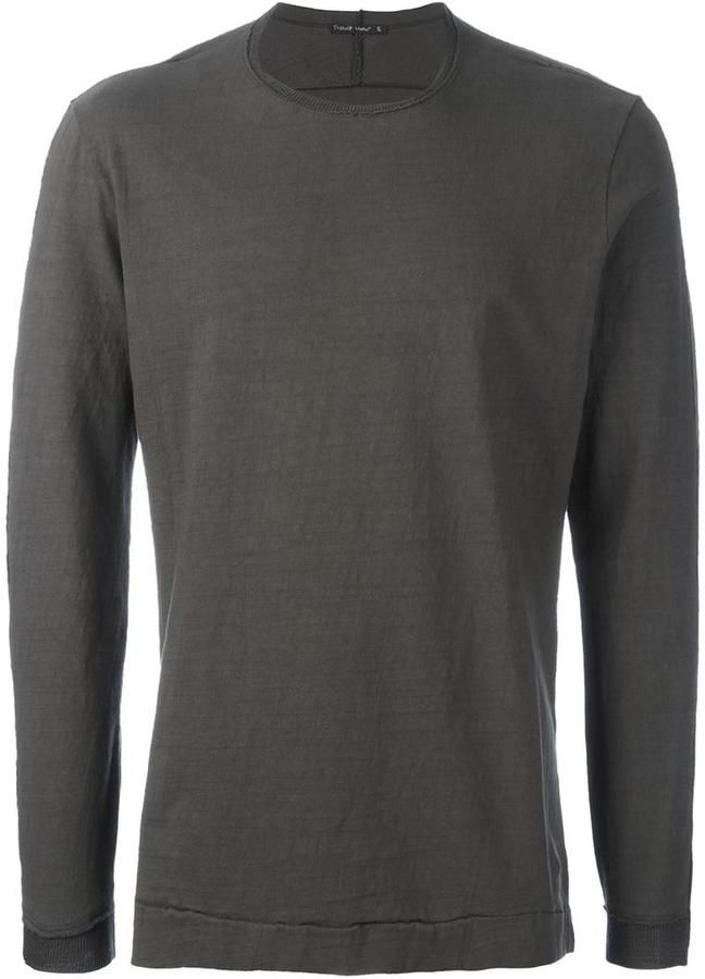 Transit crew neck jumper