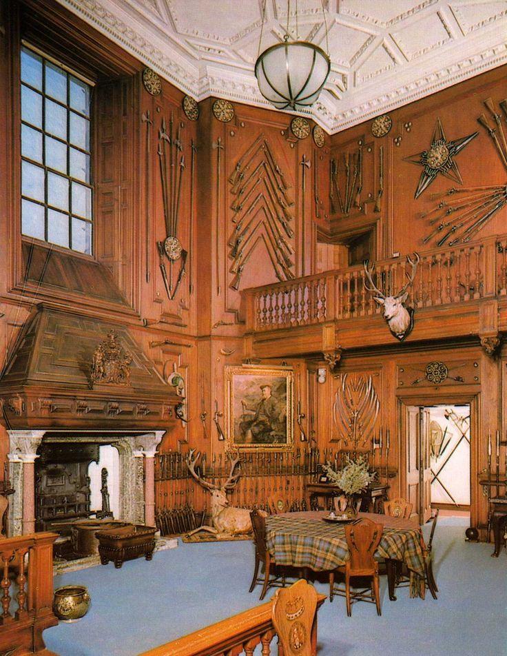 The Entrance Hall - Blair Castle - Perthshire - Scotland