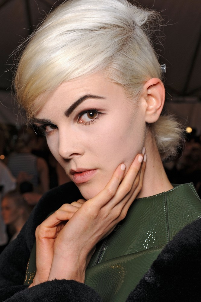 NYFW Spring 2013 Makeup And Hair  she has lovely brows