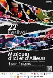 Festival des Musiques d'ici et d'ailleurs, Châlons-en-Champagne, Champagne-Ardenne