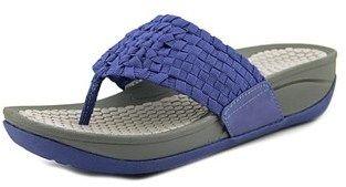 Bare Traps Baretraps Denna Women Open Toe Synthetic Blue Flip Flop Sandal.