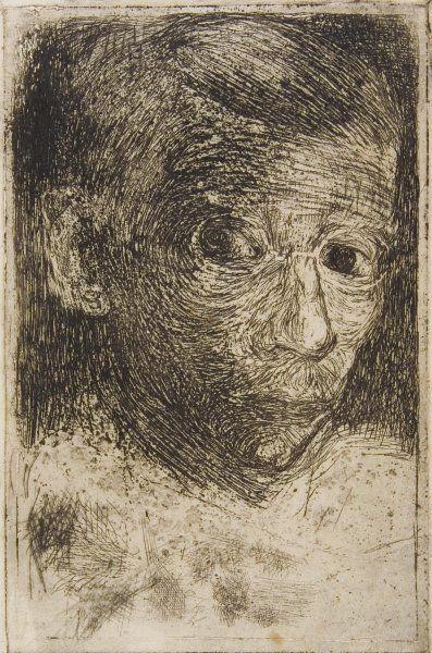Jan Mankes 1889-1920, self-portrait
