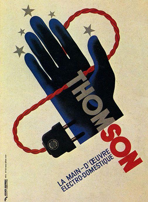 A.M. Cassandre Thomson Poster: 1931
