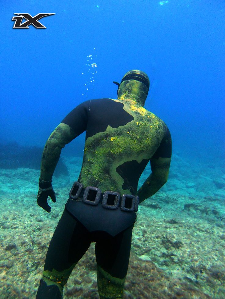 www.1x-diving.com spearfishing wetsuits traje microporoso chicle camo