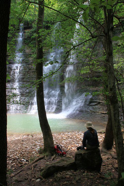Buffalo River Trail: Triple Falls/Twin Falls at Camp Orr photo 6a00d83451f90869e20154332ef0bd970c 500wi