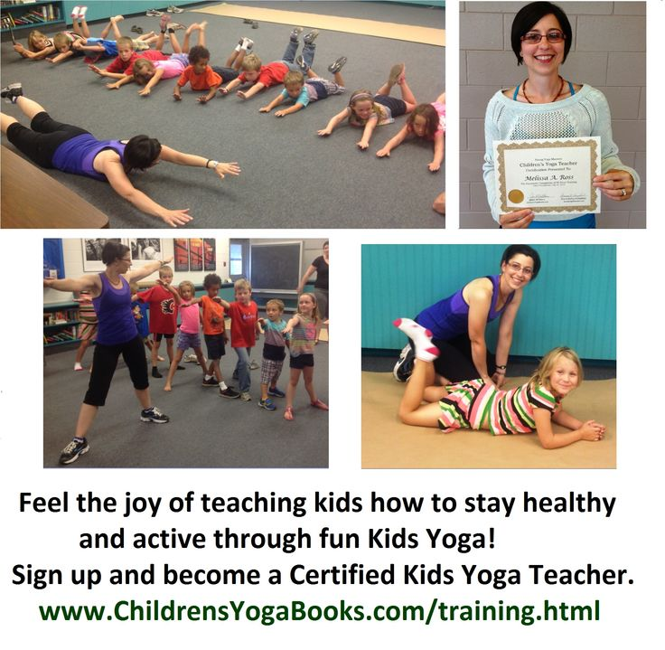 Satisfaction comes when you are doing what you love. This is Melissa one of our recent graduates who followed her passion and became a certified Kids Yoga Teacher. Congratulations Melissa! Does following your passion to keep kids healthy and active excite you? Join us for our 2014-2015 six weekend program, which starts on Sept 20-21. Sign up at: http://www.childrensyogabooks.com/training.html