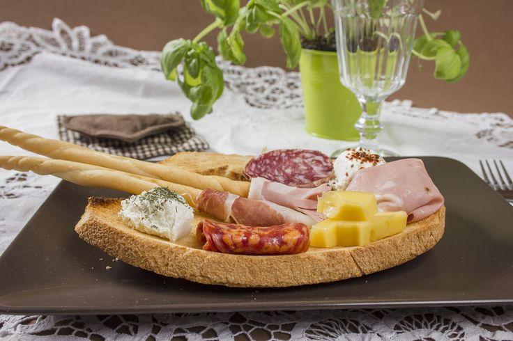 Tavolozza di salumi e formaggi