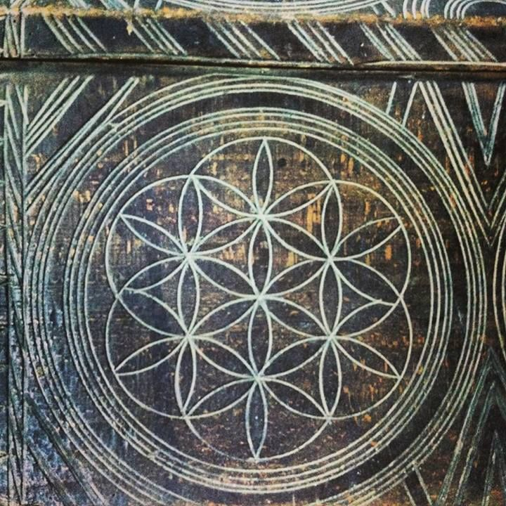 Ancient Romanian Art patterns