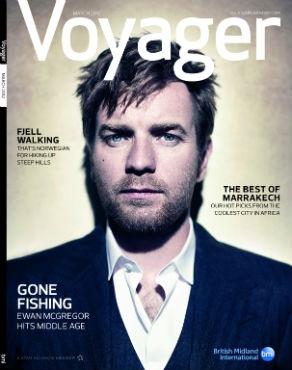 Inflight magazine cover image: Voyager (bmi British Midland)