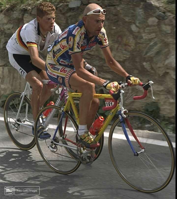 TDF 1997 Pantani with Ullrich...
