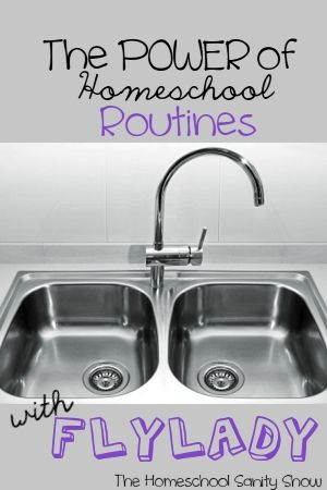 If you desire an organized homeschool, start with simple routines. Don't miss this funny and inspiring interview with the FLYLady!