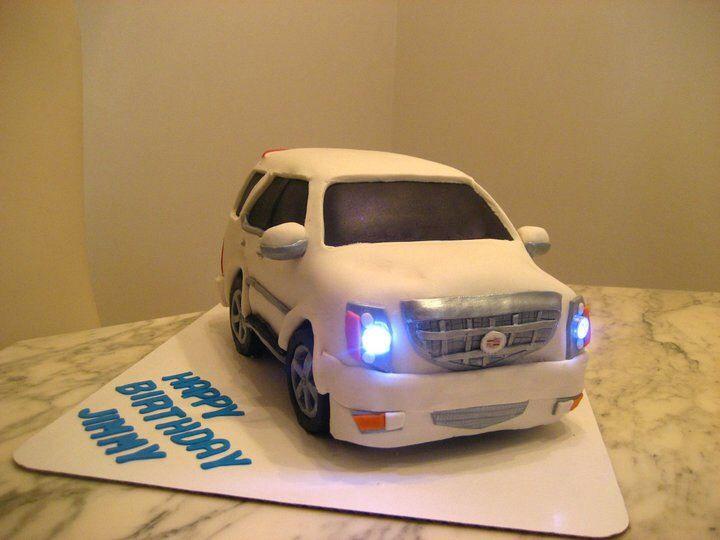 Best Car Cakes Images On Pinterest Car Cakes Amazing Cakes - Car engine birthday cake
