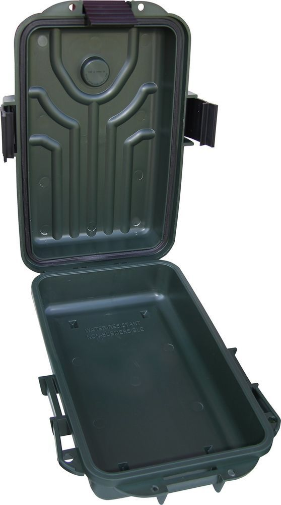 MTM Survivor Dry Box with O-Ring Seal (Forest Green, Small) #MTM