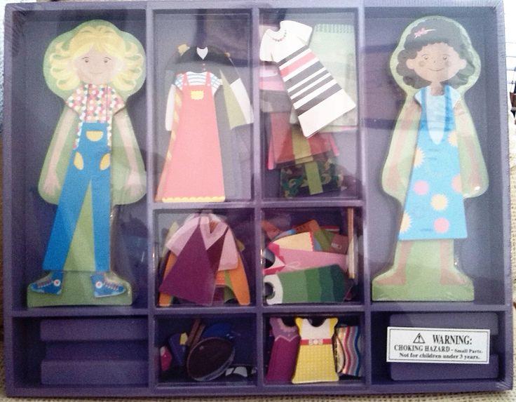 MAGNETICAS LU Y SU (23,90 €) http://www.babycaprichos.com/munecas-magneticas-para-vestir-lu-y-su.html