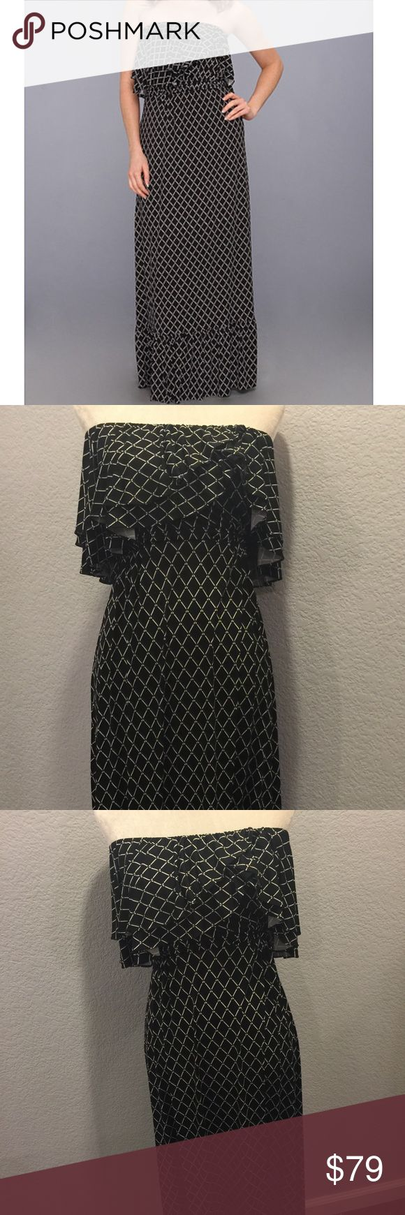 Tbags Los Angeles Layered Ruffle Tube Maxi Dress Tbags Los Angeles Layered Ruffle Tube Maxi Dress .  love this dress but just need to make room.   Can make it work for any type of occasion.   Sunday Funday dress.    Condition is like new. T-Bags Dresses Maxi