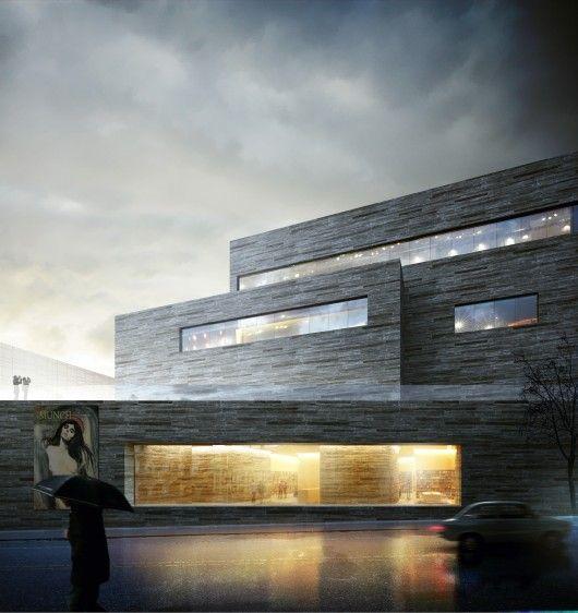 © Kleihues + Schuwerk Gesellschaft von Architekten The planning phase for the new National Arts Museum in Norway   Aug 2014