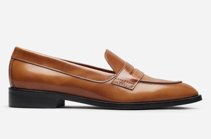 Everlane The Modern Penny Loafer in Cognac, $175, available at Everlane.When Everlane unveiled their version of the classic style earlier this year, I was immediately in love. I've owned my current pair of penny loafers — picked up from a school uniform store in Japan, where they are standard attire for all students — since my late teens, and have been keeping an eye out for a well-made, accessibly-priced style to hit the market. These might just be the ones I've been waiting for..