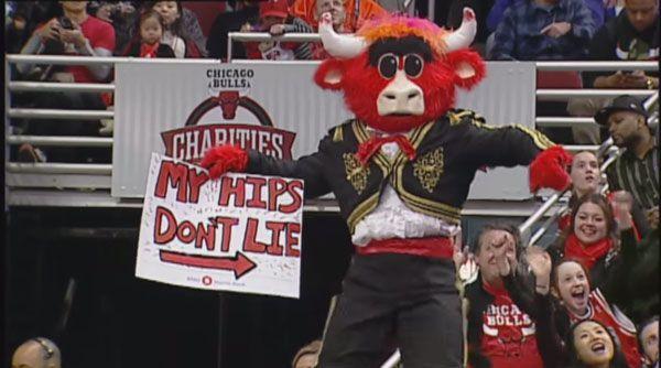 Best of Benny The Bull - Die Highlights des Maskottchens der Chicago Bulls: