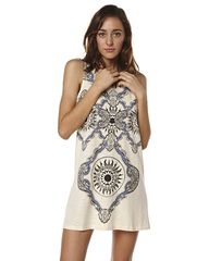 MINKPINK PSYCHEDELIC LIVES WOMENS DRESS - OFF WHITE on http://www.surfstitch.com
