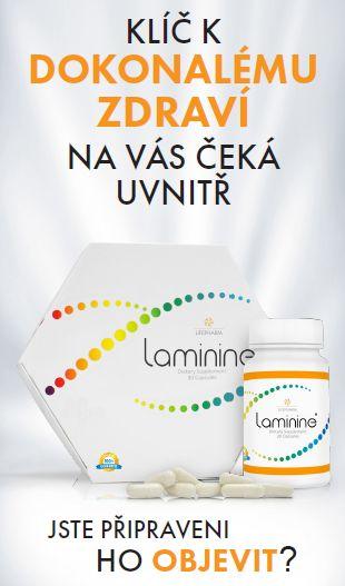 Laminine - Restart kmenových buňek jednotlivých orgánů. Laminine je organický produkt, který obsahuje všechno potřebné pro samoregulaci a samoregeneraci. Obnovuje rovnováhu na fyzické, mentální a emocionální úrovni.