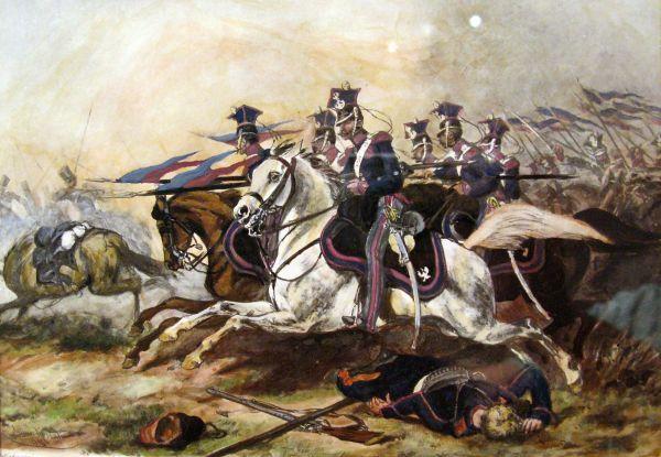 Bitwa pod Rajgrodem - Juliusz Kossak