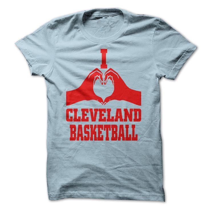 i love cleveland basketball t shirt hoodie sweatshirt