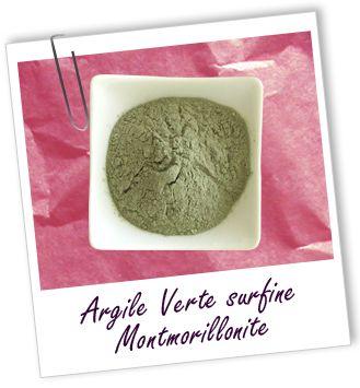 Argile montmorillonite verte surfine Aroma-Zone