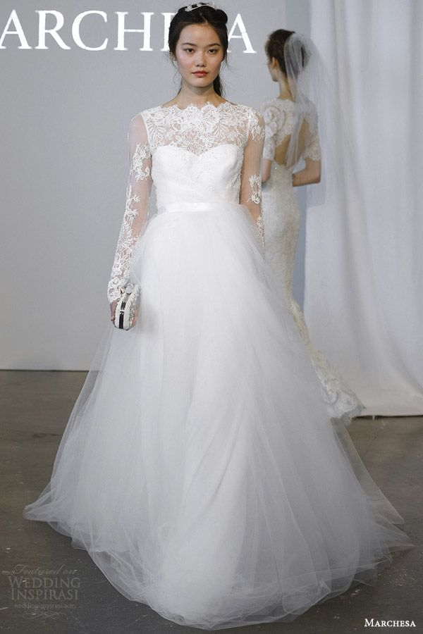 Marchesa Bridal Spring 2015 Wedding Dresses | Wedding Inspirasi