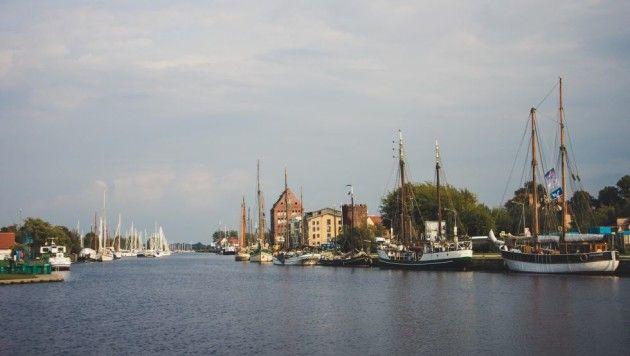 historischer Museums-Hafen in Greifswald - Mecklenburg-Vorpommern © S.H. Witzel