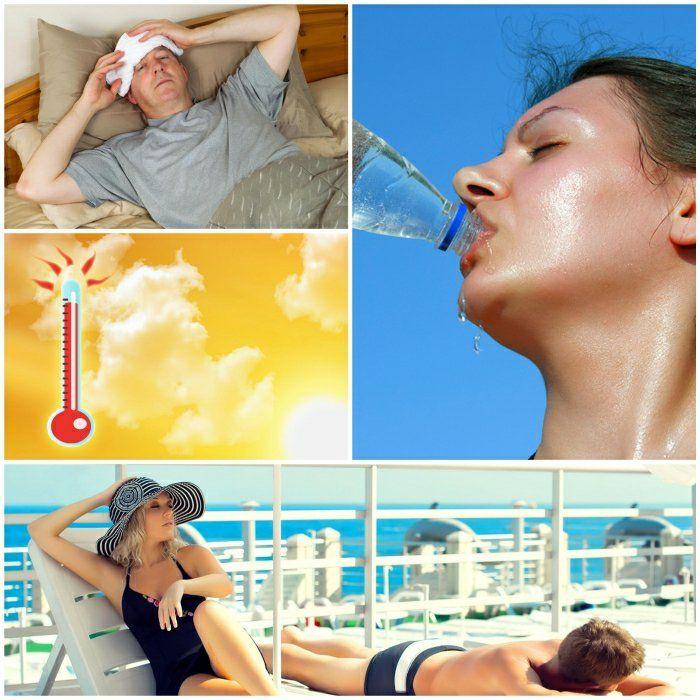 sonnenstich behandlung hitzschlag symptome sonne und meer