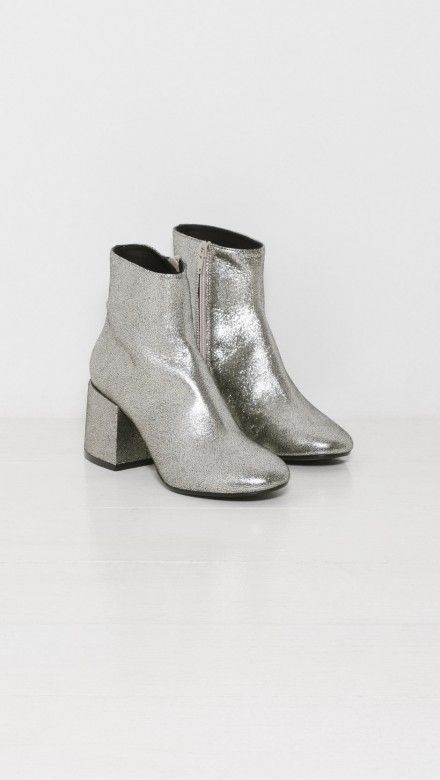 Platinum Ankle Boots by MM6 Maison Margiela