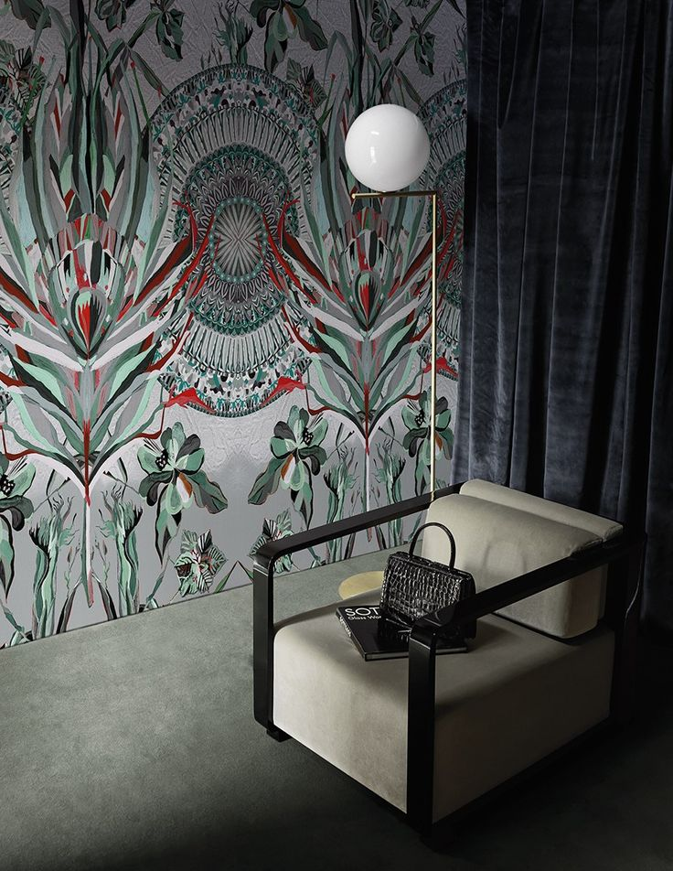 93 best Wallpaper images on Pinterest Murals, Wallpaper and Wall - designer tapeten einrichtung maskuline note