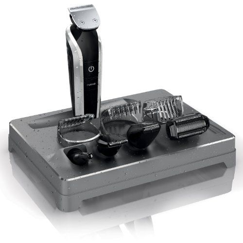 Philips Norelco Multigroom 7100 AllinOne Trimmer with 8 attachments Model QG338442 Packaging May Vary >>> See this great product.