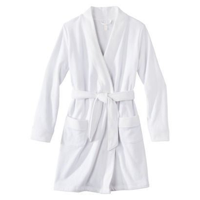 Gilligan & O'Malley® Women's Spa Waffle Knit Robe - White