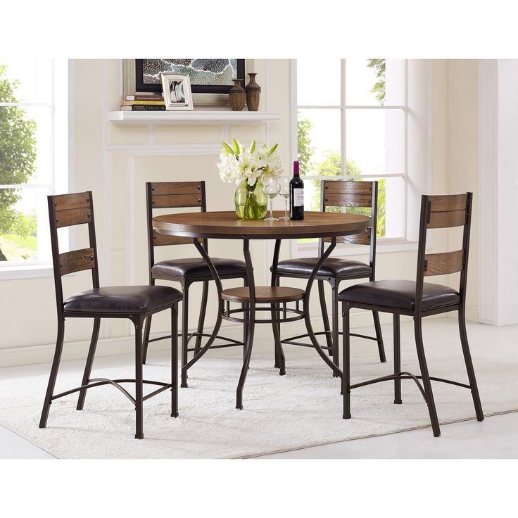 Set Of 4 Kitchen Counter Height Chairs With Microfiber: 25+ Best Ideas About Counter Height Chairs On Pinterest