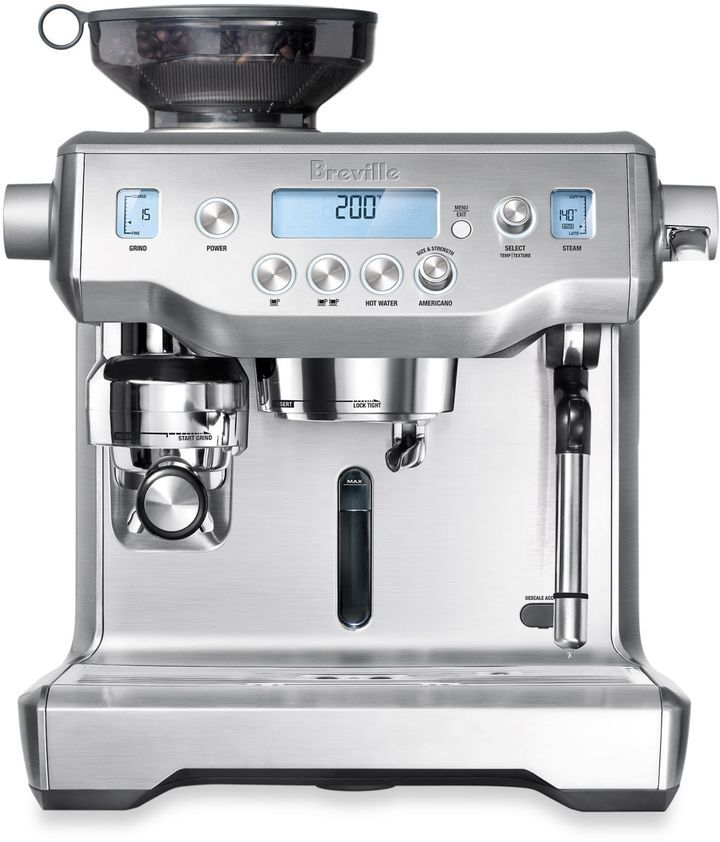 Breville the oracle bes980xl espresso machine
