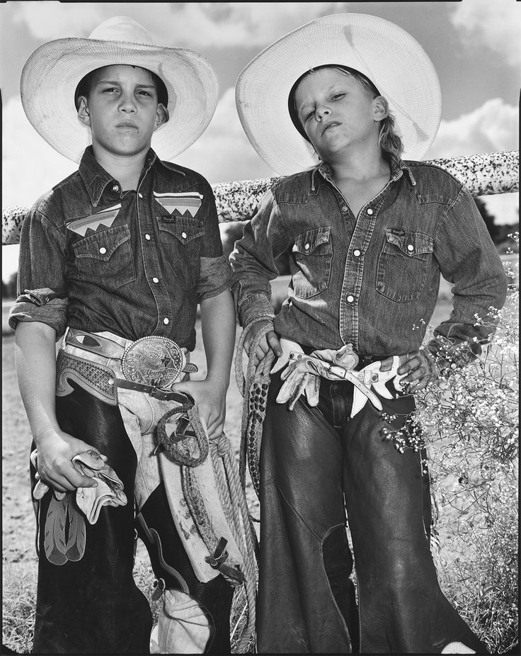 Craig Scarmardo and Cheyloh Mather at the Boerne Rodeo - Mary Ellen Mark