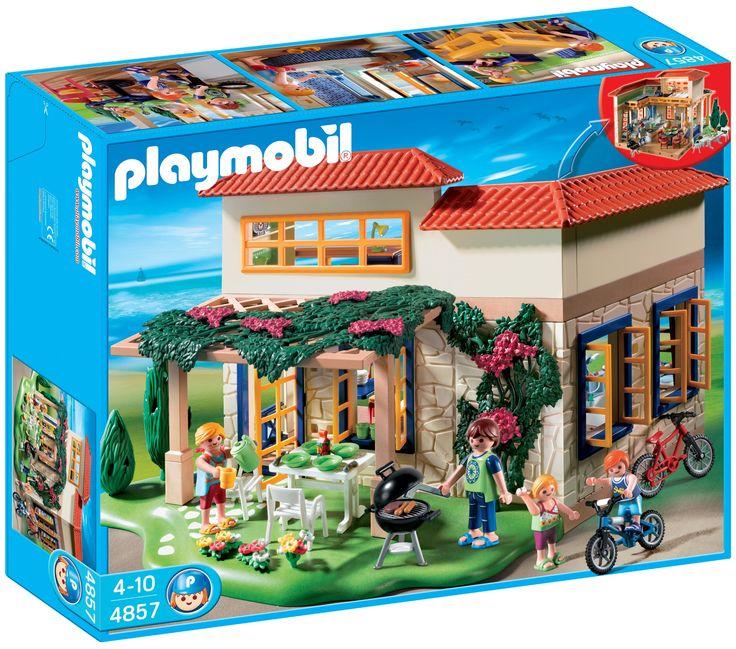 Playmobil Summer House Playmobil Pinterest