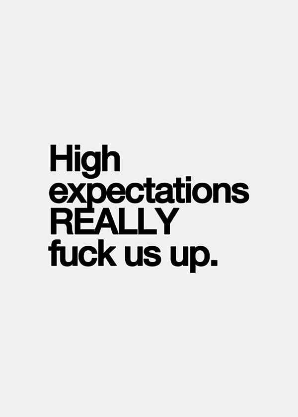 high expectations High expectations by pedro arizpe on november 29, 2012 at 12:00 am.