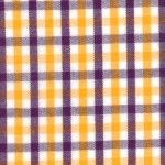 Fabric Finders Purple and Gold Check Fabric by angelasfabricandtrim on Etsy https://www.etsy.com/listing/69774100/fabric-finders-purple-and-gold-check