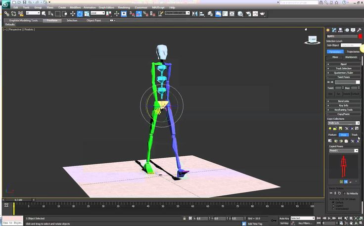 Creating a Biped Walk Cycle