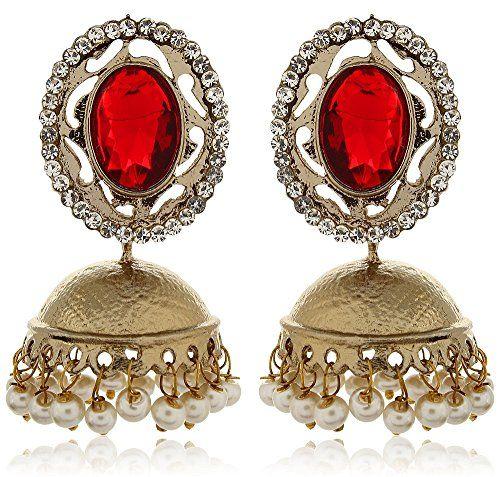 Vvs Jewellers White Pearls Red Kundan Gold plated Stylish... https://www.amazon.com/dp/B01L8QKXB0/ref=cm_sw_r_pi_dp_x_UlYHybDXSPHCJ