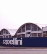 CAPPELLINI History: 1989  THE FIRM MOVES TO THE NEW PRODUCTION UNIT IN AROSIO 1991  CAPPELLINI BECOMES A TRAINING