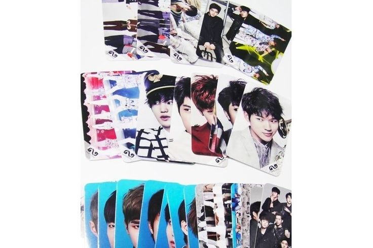 INFINITE Photo Message Card ( 30 Piece ) KPOP K-POP Korean K Pop