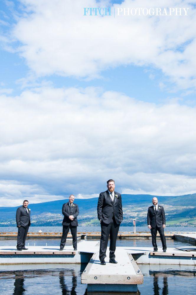 The Groom and Groomsmen looking very sharp! #groom #groomsmen #weddingphotography #photo